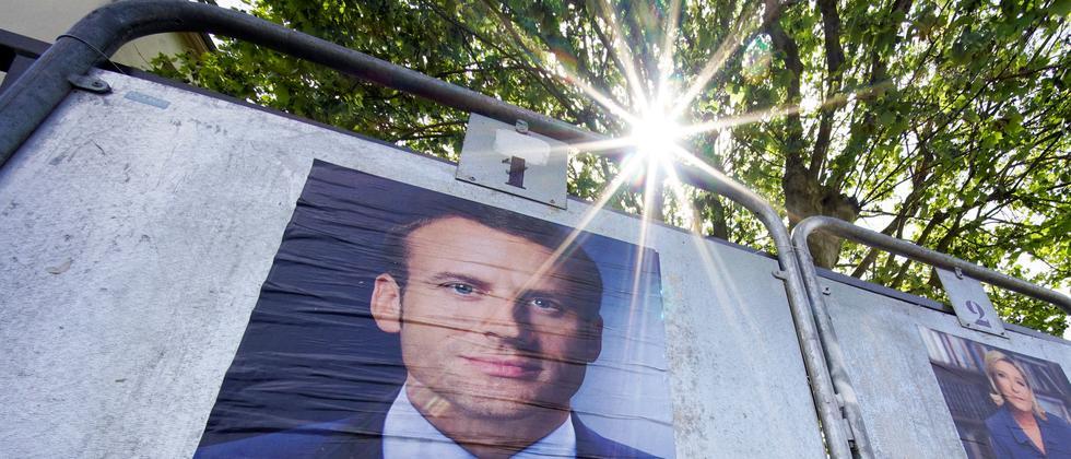 Frankreich Präsidentschaftswahl Macron Le Pen