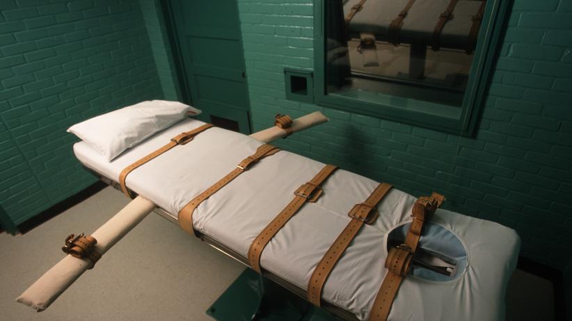 USA: Tod auf der Pritsche: Hinrichtungsraum im texanischen Huntsville