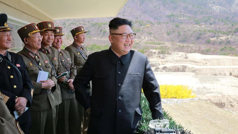 Kim Jong Un: Nordkoreas Diktator Kim Jong Un provoziert mit seinem Atomprogramm.