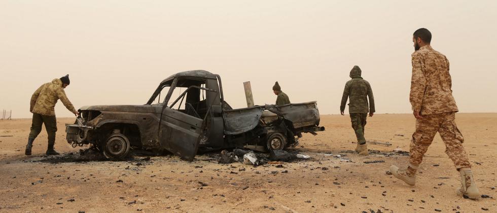 Libyen kommt nicht zur Ruhe.