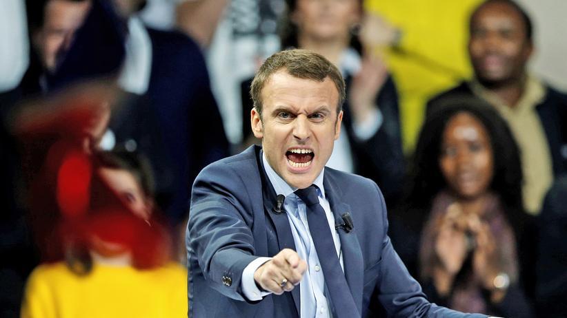 Macron Umfrage