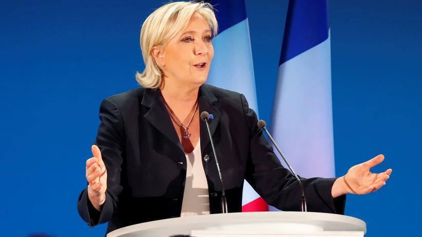 Front National: Die Präsidentschaftskandidatin des Front National, Marine Le Pen