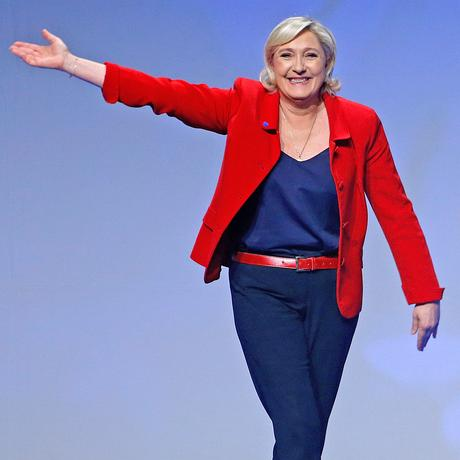 Marine Le Pen: Herrisch wie kaum ein Mann