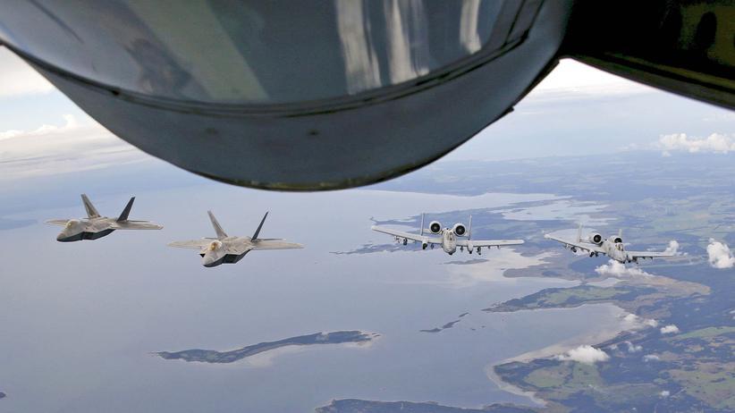 NATO Jet Kampfjet