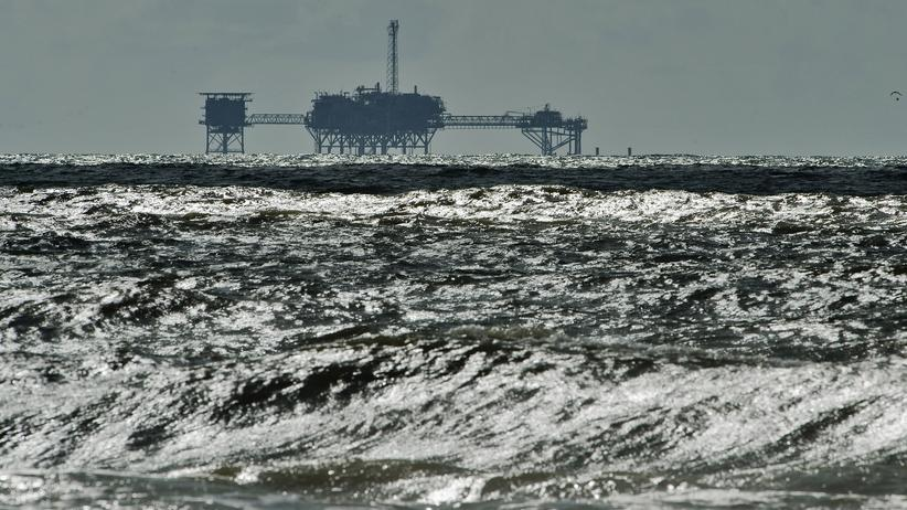USA: Öl- und Gas-Bohrinsel vor Dauphin Island, Alabama (Archiv)