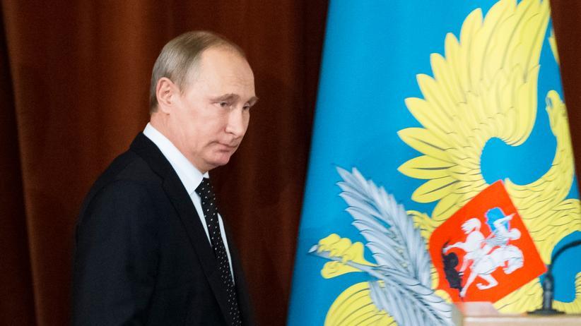 Völkerrecht: Russlands Präsident Wladimir Putin