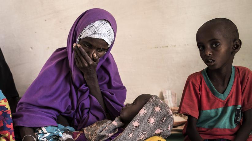 Entwicklungshilfe: Diese somalische Familie ist vor der Dürre in ihrem Land geflohen.