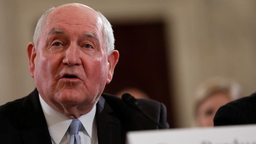 USA: Sonny Perdue, zuvor Gouverneur des Bundesstaates Georgia, ist neuer US-Landwirtschaftsminister