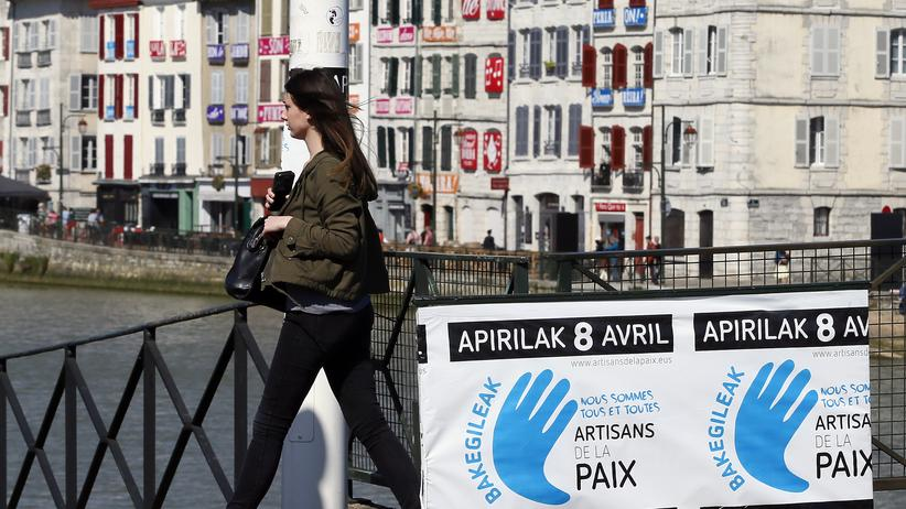 Baskenland: Experten stufen Eta als entwaffnet ein