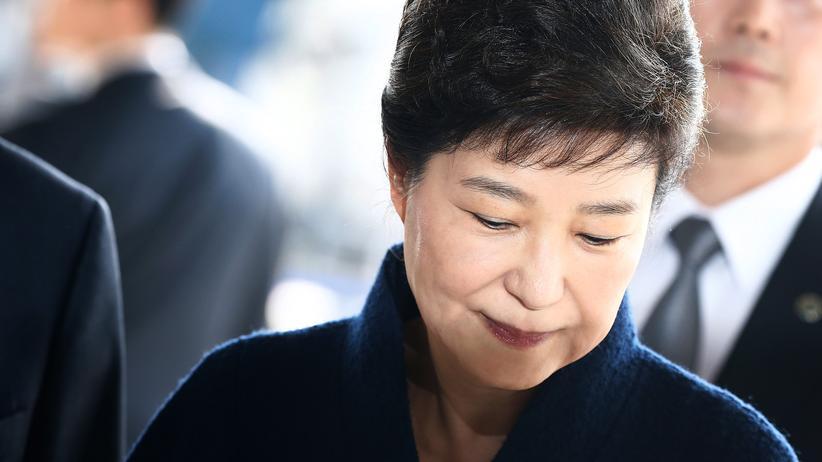 Park Geun Hye: Südkoreas Ex-Präsidentin Park Geun Hye