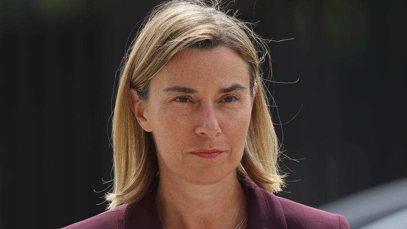 Türkische Verfassungsreform: Die EU-Außenbeauftragte Federica Mogherini sagt, man wolle weiter mit der Türkei über einen Beitritt verhandeln.
