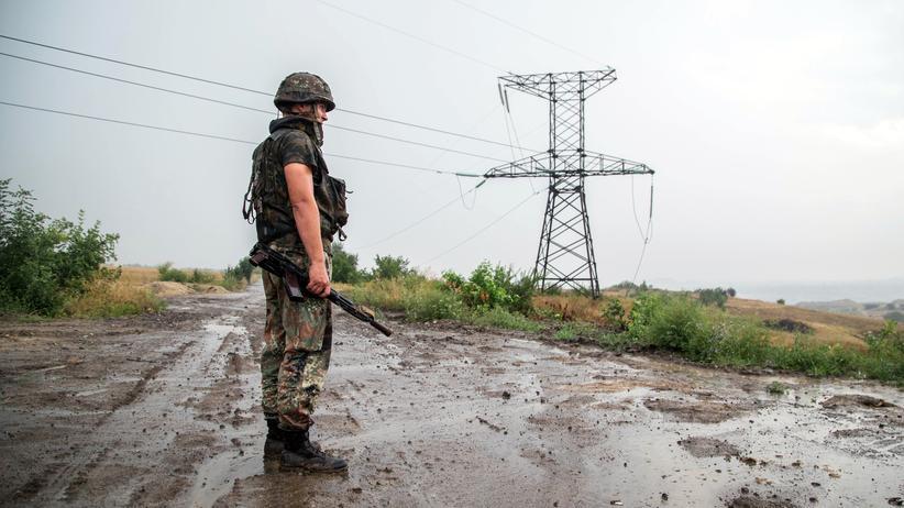 Luhansk: Seit drei Jahren ist das Gebiet Luhansk, im Osten der Ukraine umkämpft.