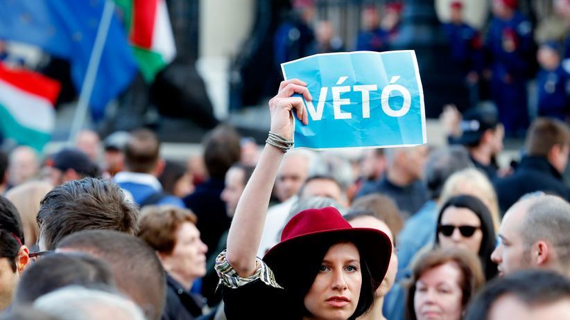 Ungarn: Zehntausende demonstrieren für Eliteuni CEU
