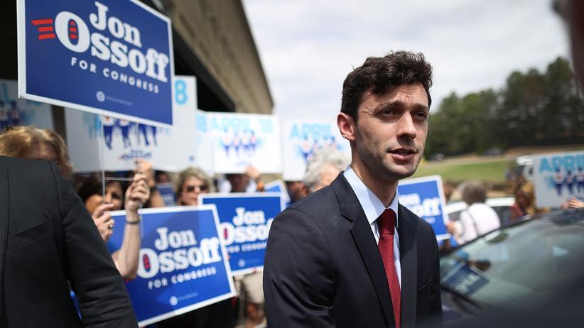 Jon Ossoff: Aussichtsreicher Kandidat und Hoffnungsträger seiner Partei