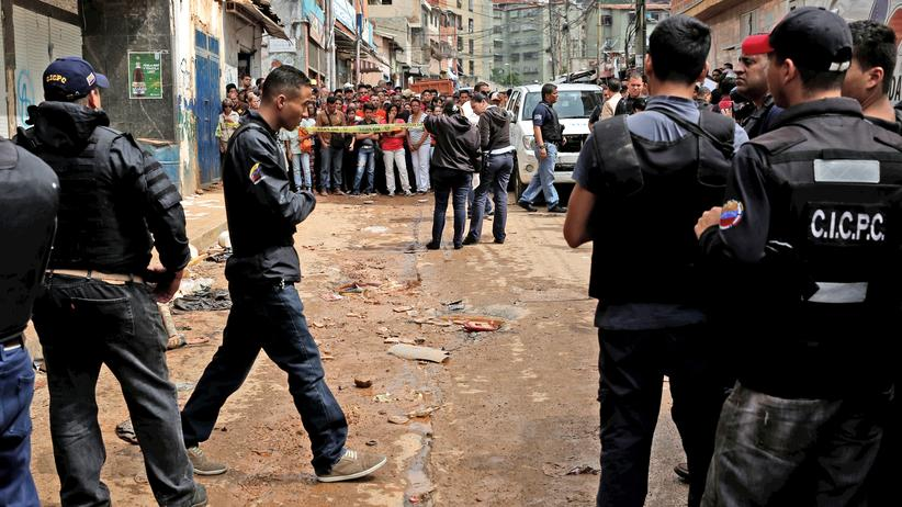 Venezuela Caracas Plünderung