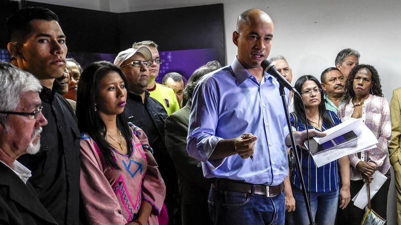 Venezuela: Hector Rodriguez von der sozialistischen Regierungspartei PSUV