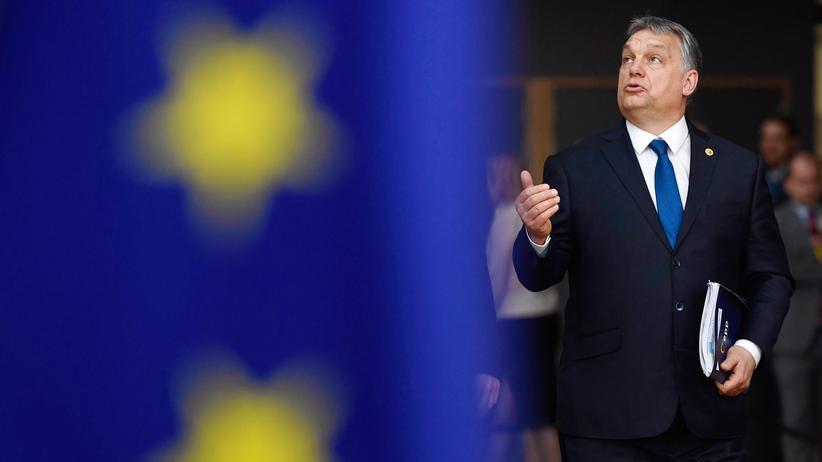 Ungarn: Der ungarische Premier Viktor Orbán in Brüssel