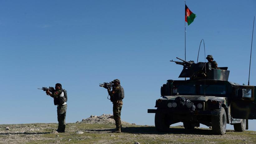 """""""Islamischer Staat"""": Afghanische Sicherheitskräfte in Nangarhar, Afghanistan"""