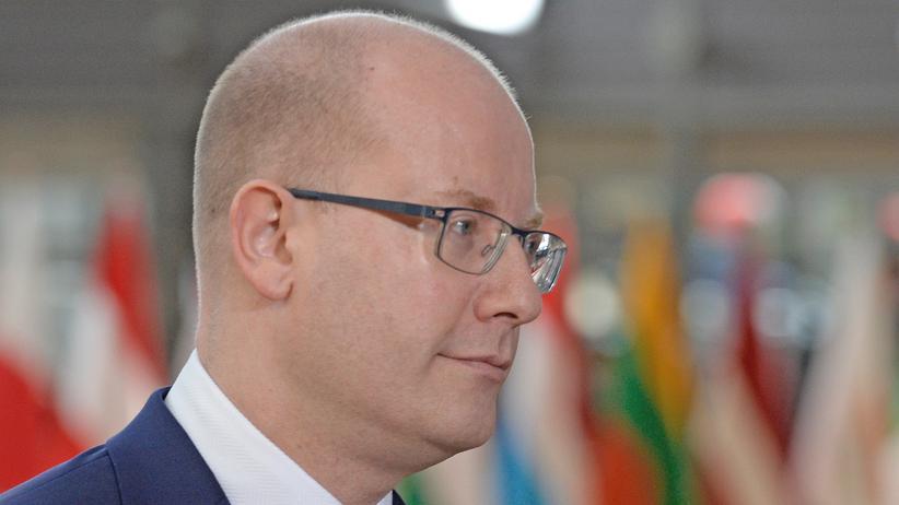 Tschechien: Der tschechische Premierminister Bohuslav Sobotka