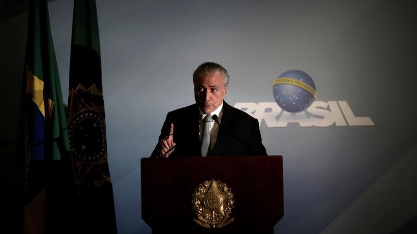 """Brasilien: """"Ich mache weiter an der Spitze dieser Regierung"""""""