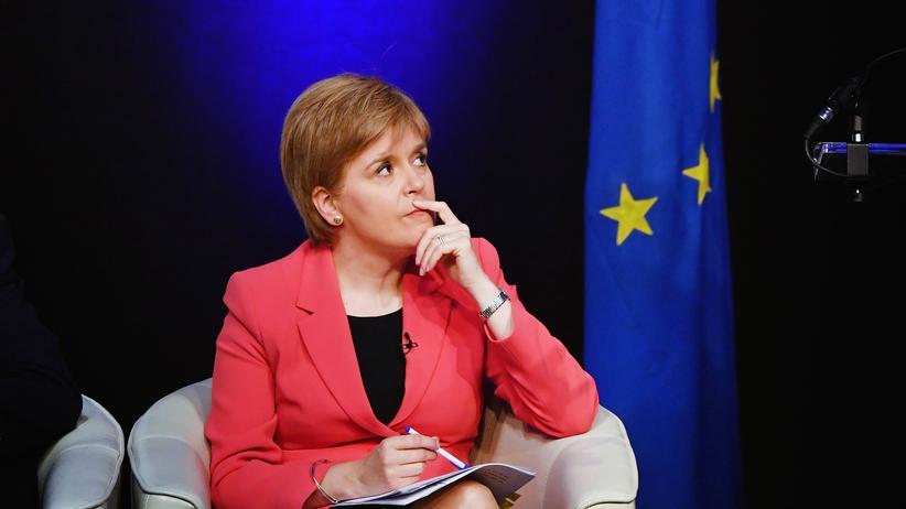Brexit: Nicola Sturgeon ist Parteichefin der SNP und schottische Regierungschefin.