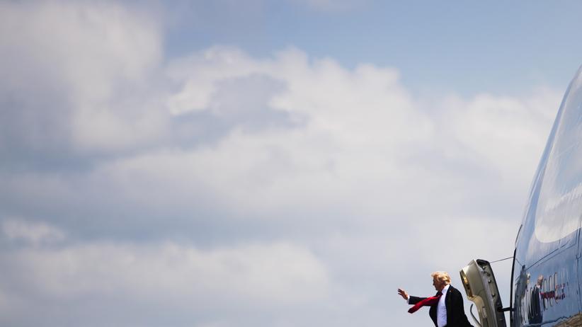 Donald Trump: Bitte anschnallen