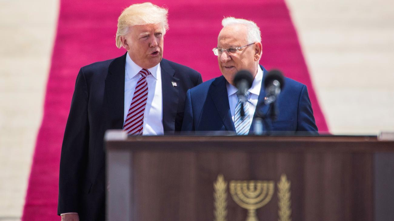 Donald Trump In Israel Seltene Gelegenheit F R Frieden
