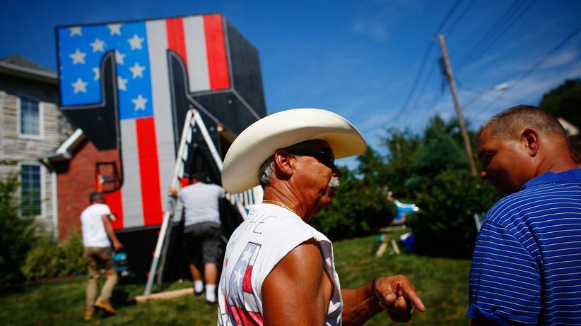 Staten Island: Trump-Anhänger auf Staten Island im August 2016