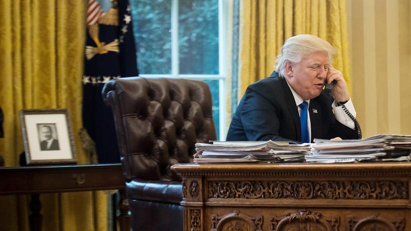 Donald Trump: Trump will auf dem Handy angerufen werden