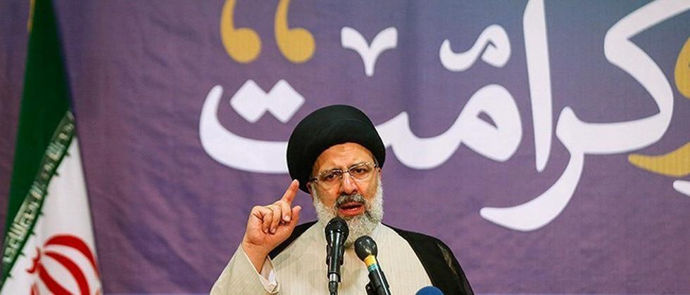 Ruhanis Hauptgegner hat ein Problem: Ebrahim Raisi, Leiter des Imam-Reza-Heiligtums in Maschad