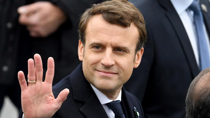 Frankreich: Frankreichs designierter Präsident Emmanuel Macron