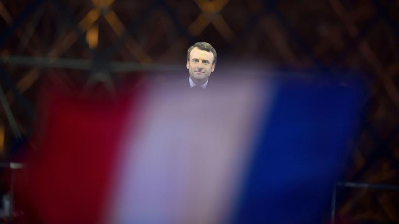 La République en Marche: Der neu gewählte Präsident Frankreichs, Emmanuel Macron