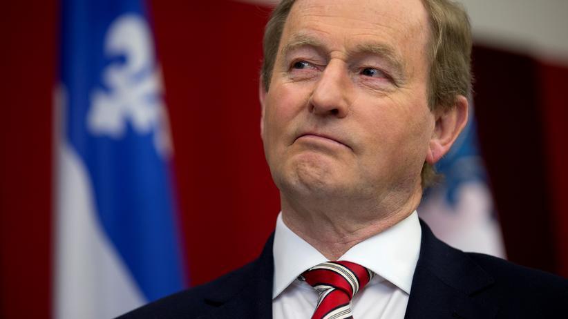 Irland: Irlands Taoiseach (Premierminister) Enda Kenny.
