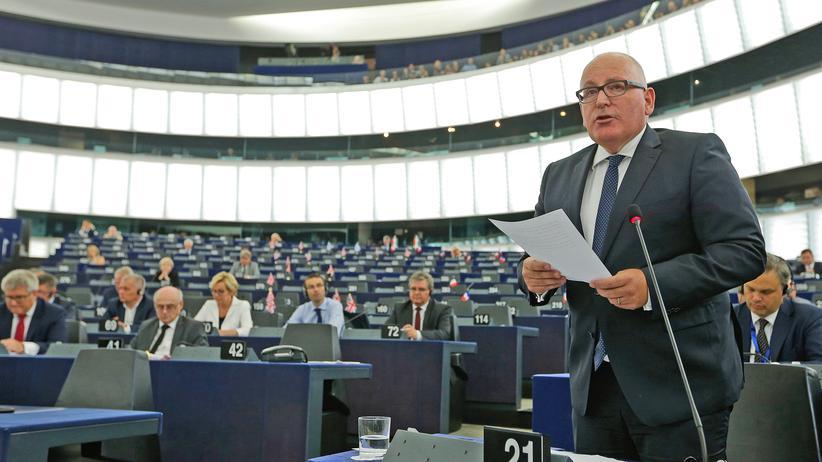 EU-Kommission: Ungarische Regierung fordert Rücktritt von Frans Timmermans