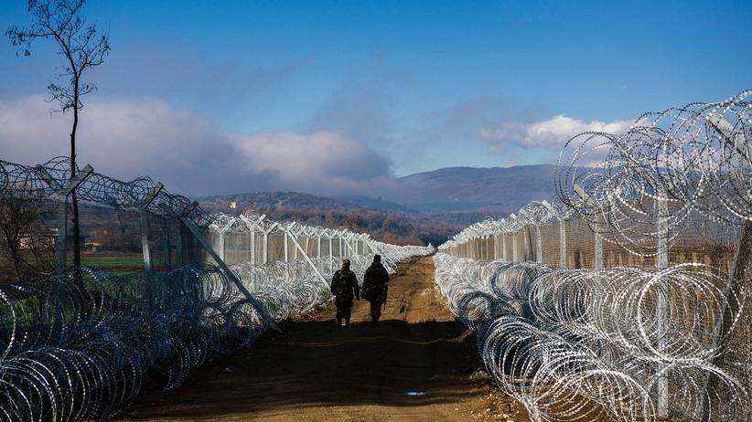 Transatlantische Beziehungen: An der griechisch-mazedonischen Grenze