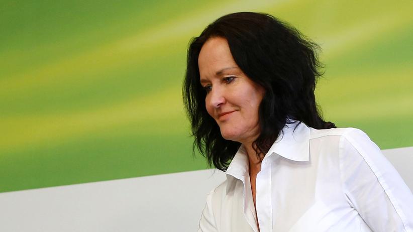 Österreich: Die Vorsitzende der österreichischen Grünen, Eva Glawischnig