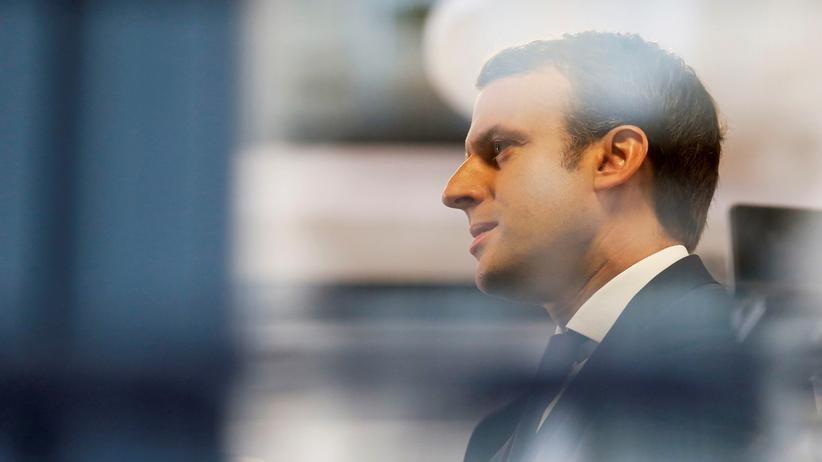 Emmanuel Macron: Der französische Präsidentschaftskandidat Emmanuel Macron