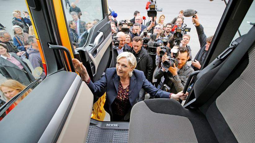 Frankreich Wahl Marine Le Pen Wahlanalysen