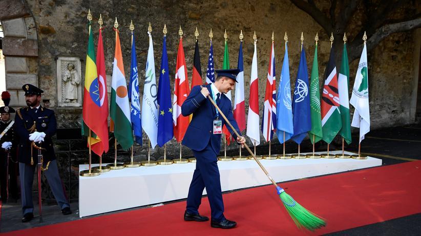 G7-Gipfel: Am Samstag stoßen mehrere afrikanische Staaten und internationale Organisationen zum G7-Gipfel auf Sizilien dazu.