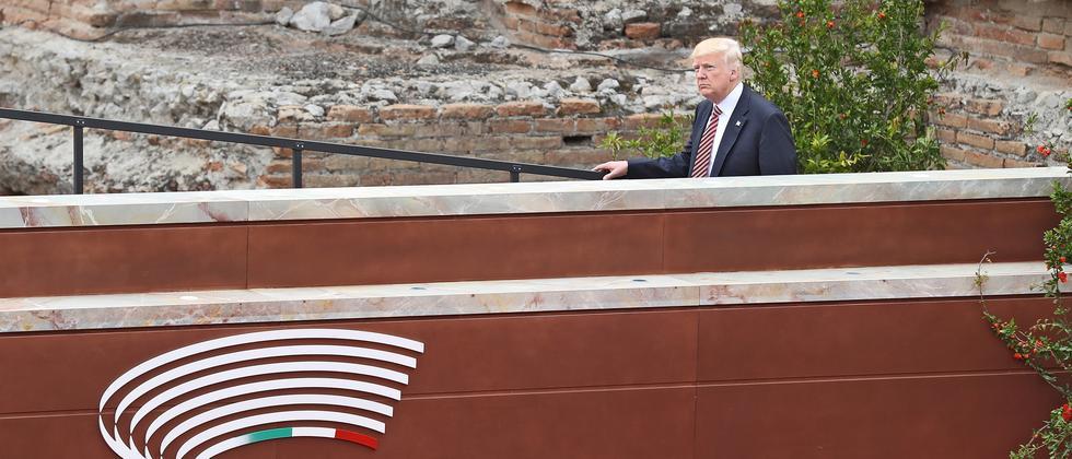 G7 USA Taormina