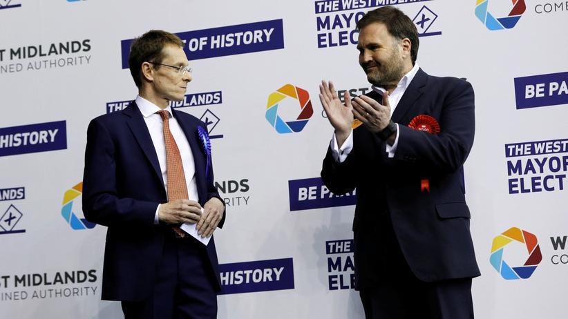 Großbritannien: Die Konservativen freuen sich über den Erfolg bei den Kommunalwahlen
