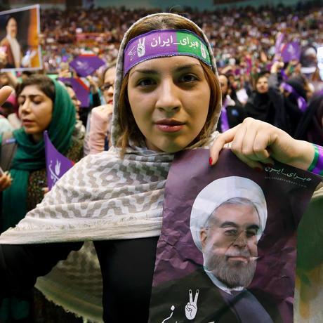 Iran Wahl Ruhani