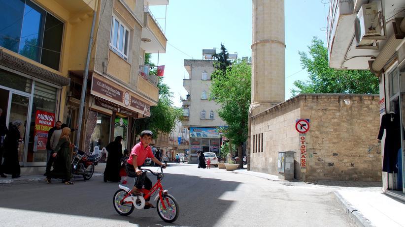 Syrer in der Türkei: Im Stadtzentrum von Kilis