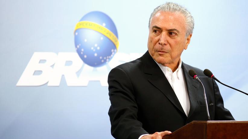 Michel Temer: Brasiliens Staatschef wechselt Justizminister aus