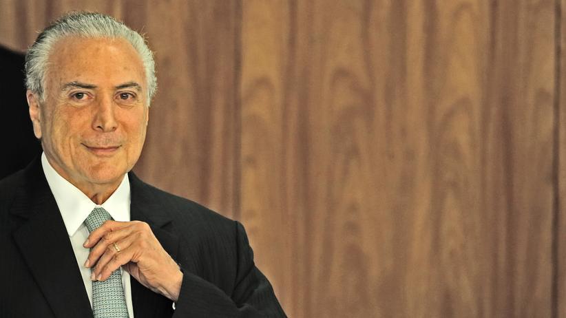Brasilien: Der brasilianische Präsident Michel Temer