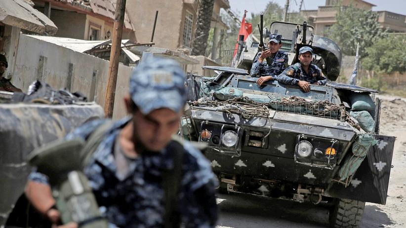 Krieg gegen IS-Terrormiliz: Irakische Armee startet erneut Offensive in Mosul