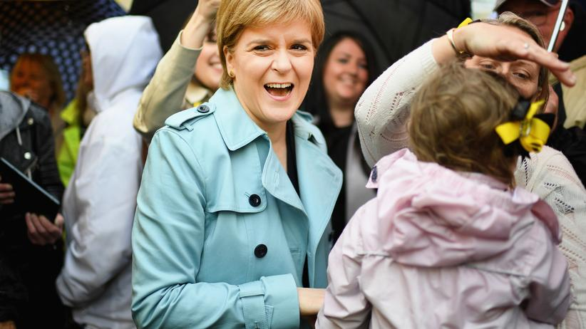 """Nicola Sturgeon: """"Hey, ich bin Nicola!"""""""