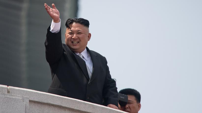 Nordkorea-Konflikt: Nordkoreas Machthaber Kim Jong Un