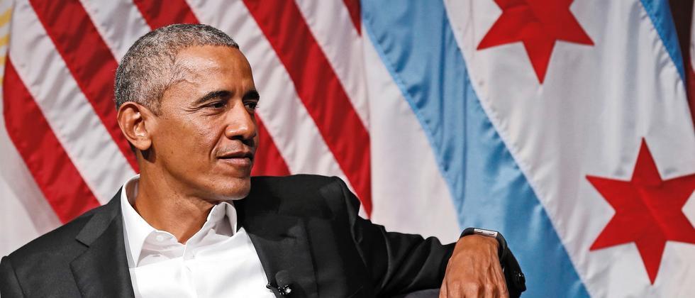 Obama Chicago Auftritt