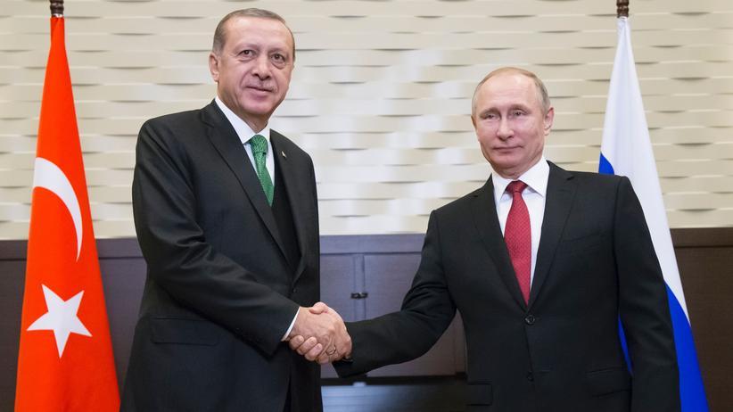 Treffen in Sotschi: Putin und Erdoğan verkünden Annäherung